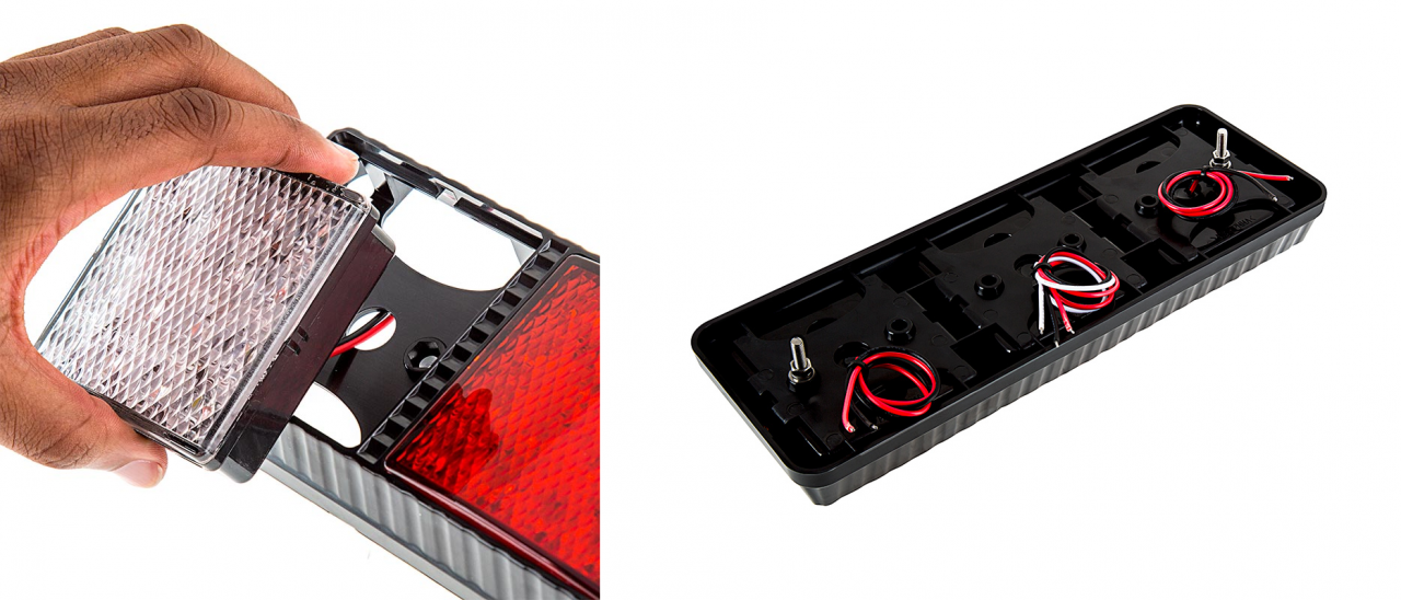 LED rear combination lamps - removable light heads