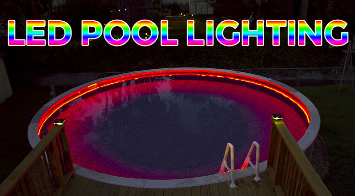 How to Install Above-Ground LED Pool Lights