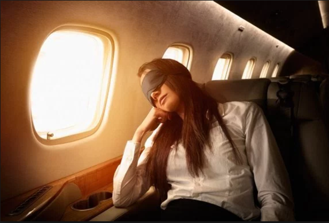 LED light glasses could be used to reduce jet lag