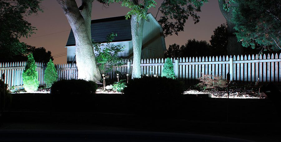 how to install led landscape lighting